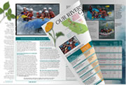 View the White Water Voyages River Rafting Catalog