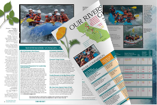 White Water Voyages Catalog of California River Rafting Trips